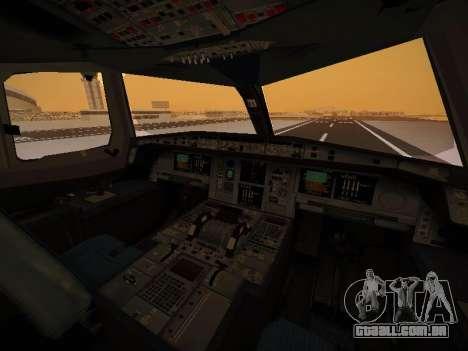 Airbus A380-800 Thai Airways International para GTA San Andreas