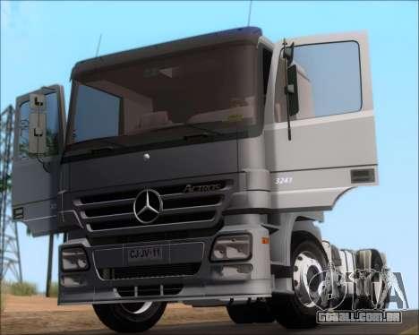 Mercedes-Benz Actros 3241 para GTA San Andreas vista interior