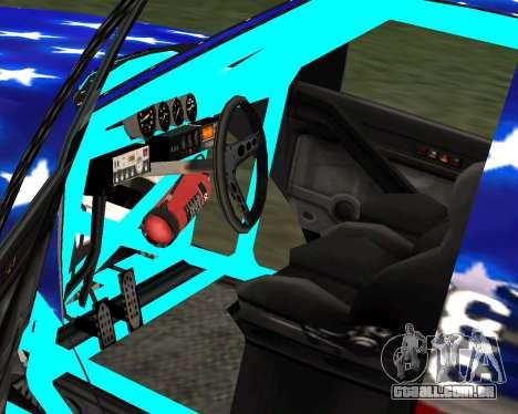 Liberator Online Version (American Flag) para GTA San Andreas traseira esquerda vista