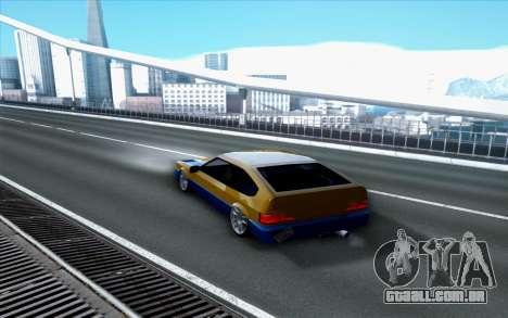 Blista By Next para GTA San Andreas esquerda vista