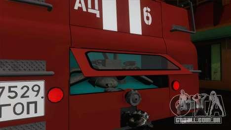 ZIL 131 - AC para GTA San Andreas vista inferior