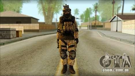 Soldados da UE (AVA) v6 para GTA San Andreas