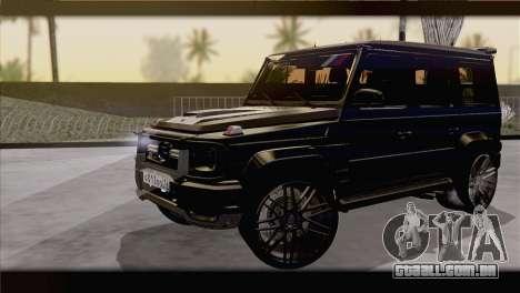 Brabus B65 v1.0 para GTA San Andreas