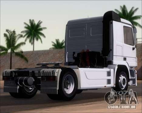 Mercedes-Benz Actros 3241 para GTA San Andreas esquerda vista
