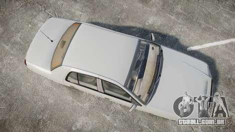 Ford Crown Victoria LX Sport para GTA 4 vista direita