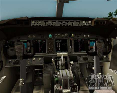 Boeing 737-8AS Ryanair para GTA San Andreas interior