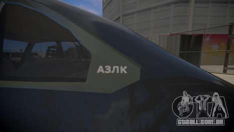 AZLK 2141 para GTA 4 vista direita