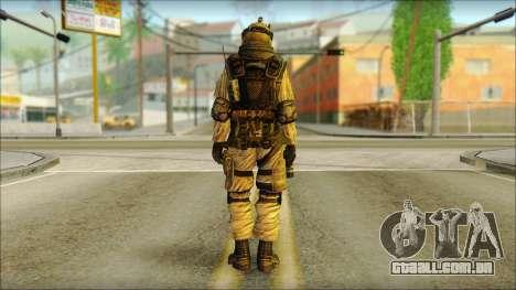 Soldados da UE (AVA) v6 para GTA San Andreas segunda tela