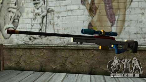 Sniper Rifle from PointBlank v4 para GTA San Andreas