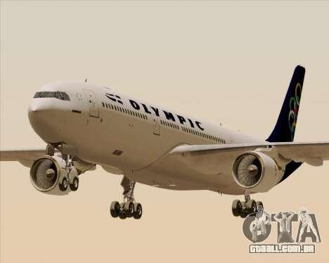 Airbus A330-300 Olympic Airlines para GTA San Andreas