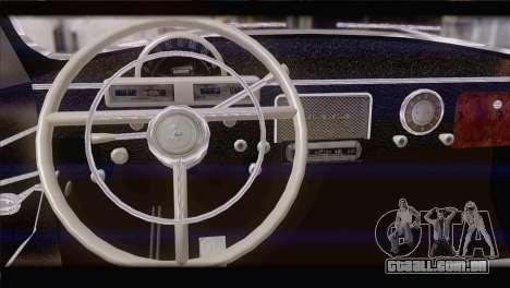 GÁS de 21 de 1965 para GTA San Andreas traseira esquerda vista