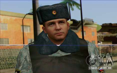 A polícia da Rússia Pele 5 para GTA San Andreas terceira tela