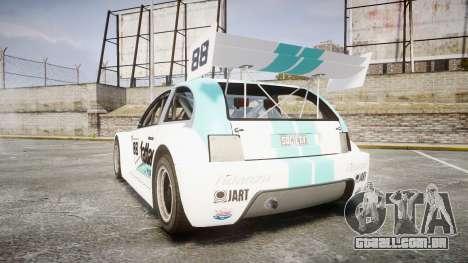 Zenden Cup Fat Lace para GTA 4 traseira esquerda vista