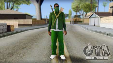 New CJ v6 para GTA San Andreas