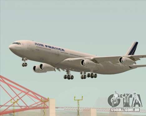 Airbus A340-313 Air France (Old Livery) para o motor de GTA San Andreas