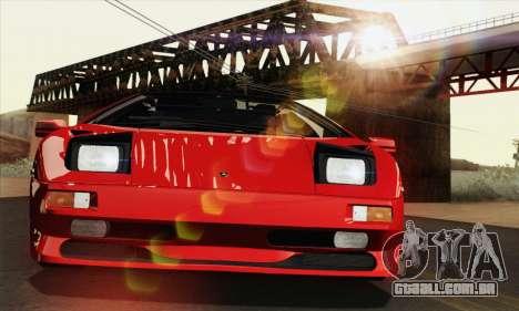 Lamborghini Diablo SV 1995 (HQLM) para vista lateral GTA San Andreas