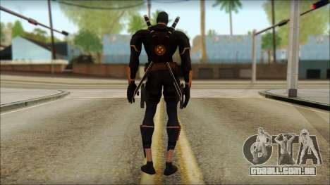 Xmen Alt Deadpool The Game Cable para GTA San Andreas segunda tela