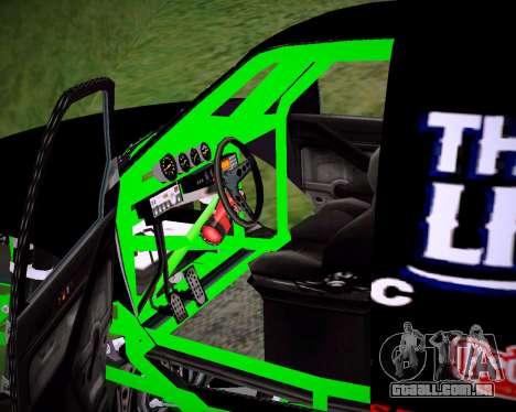 Liberator Online Version (Pirate Flag) para GTA San Andreas traseira esquerda vista