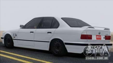 BMW M5 E34 para GTA San Andreas vista interior