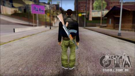 Shades and Gun Claude v1 para GTA San Andreas segunda tela