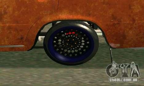 VAZ 2101-Rato olhar para GTA San Andreas vista direita