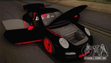 Porsche 911 GT3RSR para GTA San Andreas vista interior