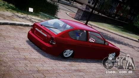 Lada Priora Coupe para GTA 4 vista de volta