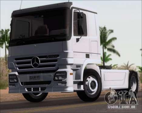 Mercedes-Benz Actros 3241 para GTA San Andreas vista direita