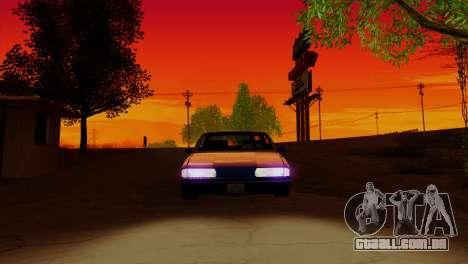 Bright ENB Series v0.1b By McSila para GTA San Andreas por diante tela