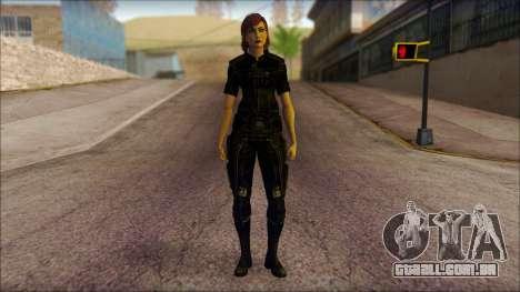 Mass Effect Anna Skin v4 para GTA San Andreas