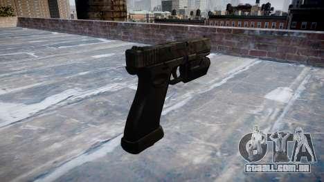 Pistola Glock de 20 kryptek typhon para GTA 4 segundo screenshot