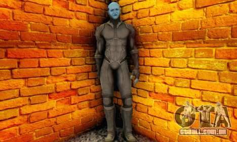 Skin Electro From The Amazing Spider Man 2 para GTA San Andreas terceira tela