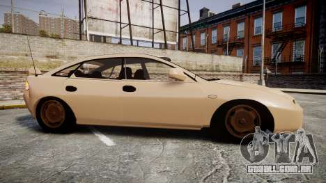 Mazda 323f 1998 para GTA 4 esquerda vista