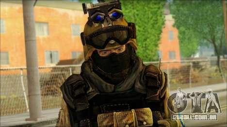 Soldados da UE (AVA) v6 para GTA San Andreas terceira tela