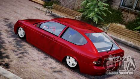 Lada Priora Coupe para GTA 4 vista direita