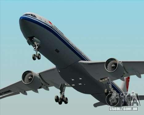 Airbus A330-300 Air China para GTA San Andreas vista superior