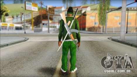 New CJ v6 para GTA San Andreas segunda tela