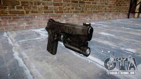 Arma Kimber 1911 Kryptek Typhon para GTA 4
