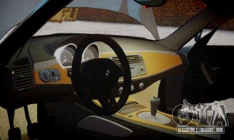 BMW Z4M para GTA 4 vista direita