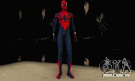Skin The Amazing Spider Man 2 - Suit Ben Reily para GTA San Andreas terceira tela