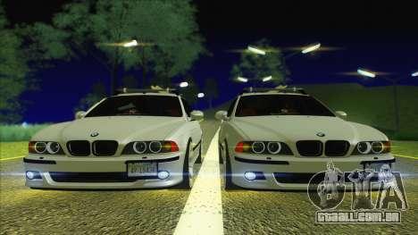 BMW M5 E39 2003 Stance para GTA San Andreas vista direita