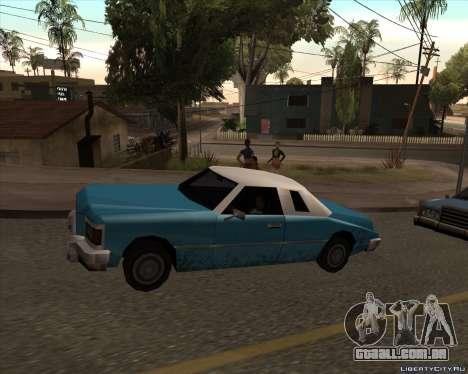 Idaho para GTA San Andreas esquerda vista