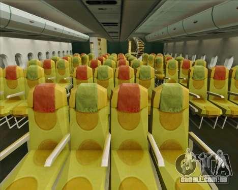 Airbus A380-841 Emirates para as rodas de GTA San Andreas