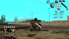 C-HUD by SampHack v.13 para GTA San Andreas