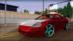 Mitsubishi Eclipse GTS Tuning para GTA San Andreas