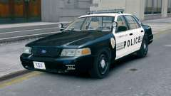 Ford Crown Victoria LCPD [ELS] No Pushbar para GTA 4