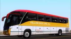 Marcopolo Paradiso G7 1050 Yellow Bus Line A-2 para GTA San Andreas