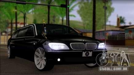 BMW E66 7-Series Limousine para GTA San Andreas
