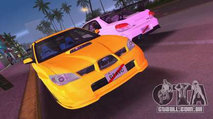 Subaru Impreza WRX STI 2006 Type 4 para GTA Vice City