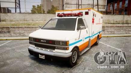 GTA V Brute Ambulance [ELS] para GTA 4